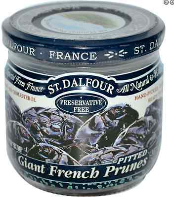 New St Dalfour Organic All Natural & Healthy No Cholesterol French Prunes Pitted