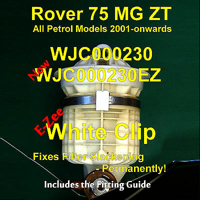 WJC000230 Filter Clip - Fixes Petrol Filter Separation - Rover 75 MG ZT 2001-on