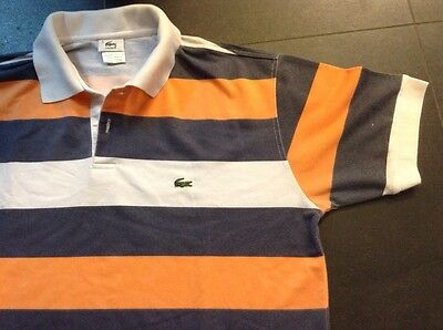 Lacoste Polo Shirt Jersey Trikot Maglia Strisce Maillot Camiseta Camisa
