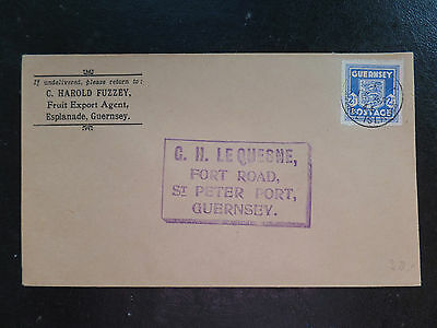 Guernsey 2 1/2d Occupation Arms FDC