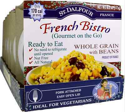 New St Dalfour French Bistro Gourmet On The Go Whole Grain Beans Healthy Foods