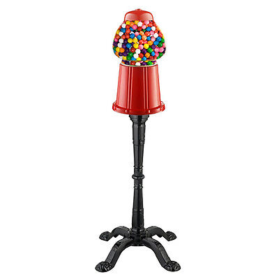 Vintage Candy Gumball Machine w/ Stand, Dispenser Vending Bubblegum Bank Antique