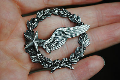 WW2 French air force observers breast badge