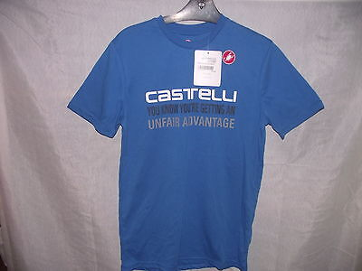 Blue Castelli Advantage T-Shirt BNWT