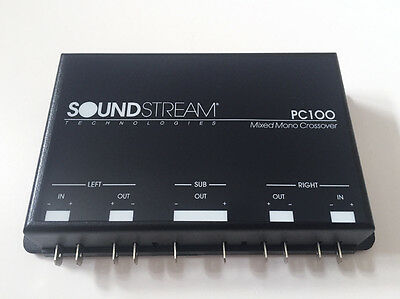 NEW Old School Soundstream Reference PC100 tri-mode mixed mono crossover / xover