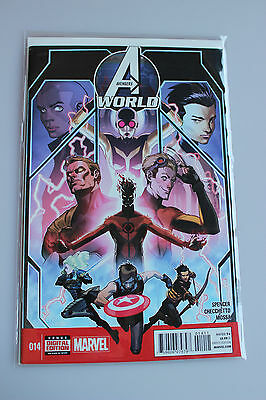*Bagged and Boarded USA* Avengers World #14 (2014) Hickman 1st Printing MARVEL