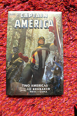 *NEW SEALED USA* Captain America - Two Americas Hardcover HC