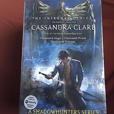 NEW! The Infernal Devices The Complete Collection: Clockwork - Cassandra Clare