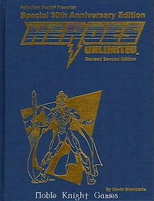 Palladium Heroes Unlim Heroes Unlimited (2nd Edition, Revised) (30th Anni HC NM