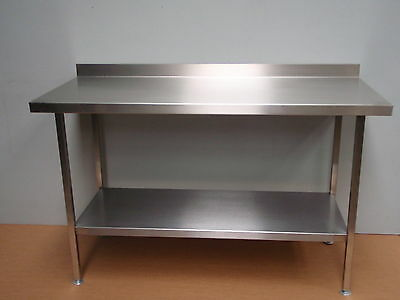 STAINLESS STEEL TABLE PREP BENCH 2100mm X 2