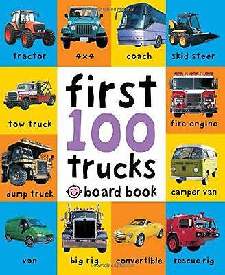 First 100 Trucks (Soft to Touch Board Books), Roger Priddy | Hardcover Book | 97