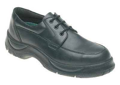 Himalayan 310 Size 8 S1P SRC Black Wide Fit High Grip Steel Toe Cap Safety Shoes