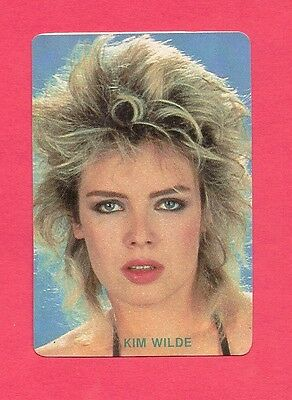 Kim Wilde Collectible Card 1987; Pop Rock; Synthpop; New Wave; Singer; UK 1980's