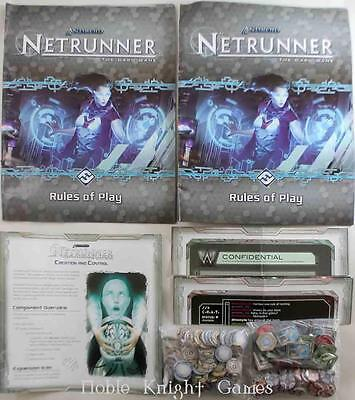 Fantasy Fl Android Netr Android Netrunner Collection - Base Game + Expa Box NM-