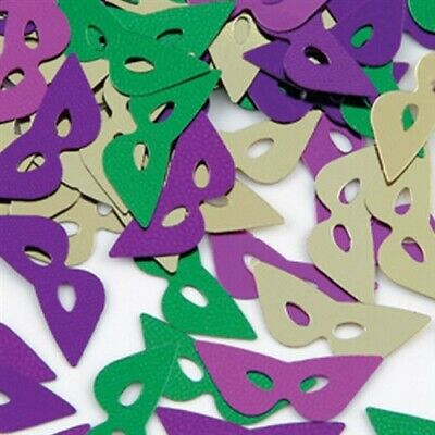 Mardi Gras Masks Confetti 1 oz Bag