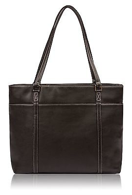 Overbrooke Womens Vegan Leather Tote - Shoulder Bag for Laptops up to 15.6""
