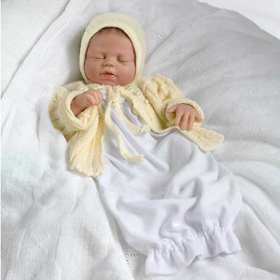 Princess Charlotte of Cambridge Royal Baby Doll in White and Yellow Ashton Drake
