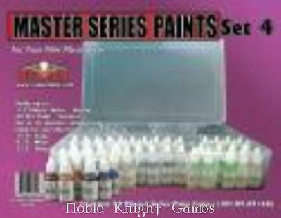 Reaper Master Series Paint Master Series Paint Set #4 (09115-09216 w/Caddy) SW