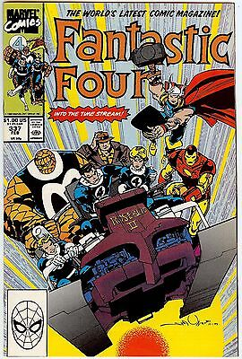 Fantastic Four #337 - Into the Time Stream! (Marvel, 1990) - VF/NM-FREE SHIPPING