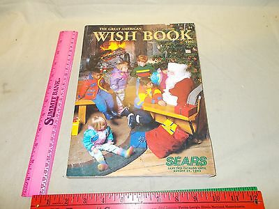 1992 SEARS CHRISTMAS CATALOG WISH BOOK TOYS & Fashion Appliances Tools GREAT ADS