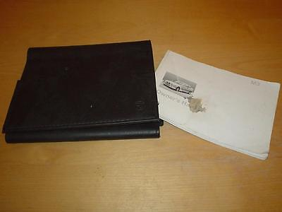 BMW M3 3 SERIES E36 SALOON COUPE CONVERTIBLE EVO Owners Handbook Manual Wallet