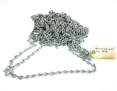 "50 Ft Single Jack Steel Zinc Weldless Chain 0.105"" Type 2, Class 7, 12 Size"
