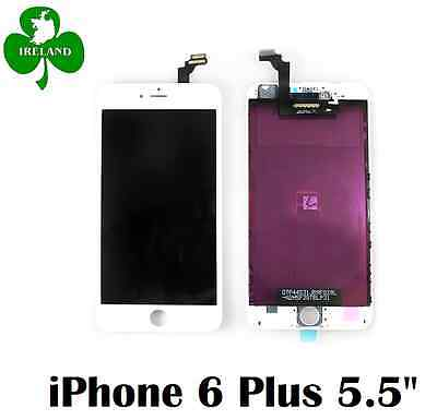 For iPhone 6 Plus LCD Touch Screen Display Digitizer Glass Assembly Unit White