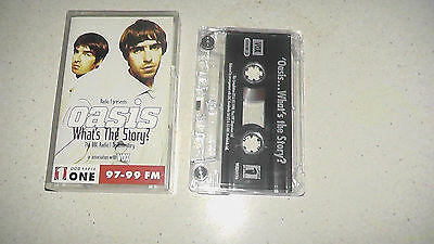 oasis what`s the story bbc radio documentary cassette