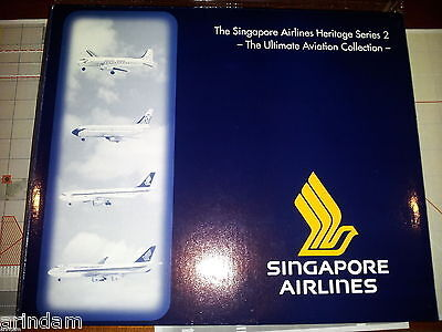Herpa Singapore Airlines Heritage Series 2 510806 Ultimate Aviation Col  ***RARE