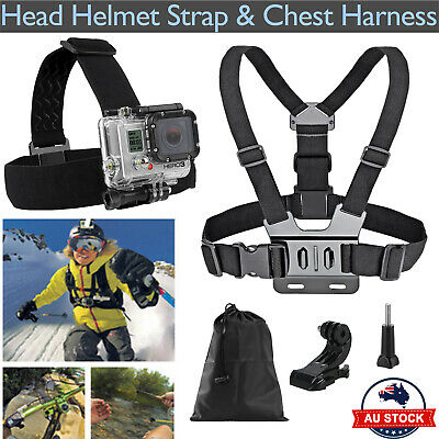 Head Helmet Strap Chest Harness Mount GoPro 2 3 3+ 4 Go Pro Chesty Accessoriess