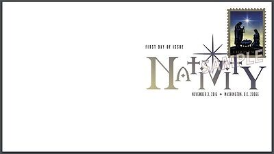 US 5144 Christmas Nativity DCP FDC 2016