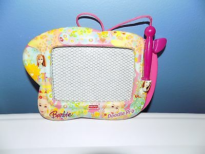 Fisher Price Barbie Doodle Pro Magnetic Drawing Screen Pink