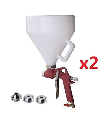 1.5 Gallon Air Hopper Spray Gun Paint Texture Tool Drywall Wall Painting Sprayer