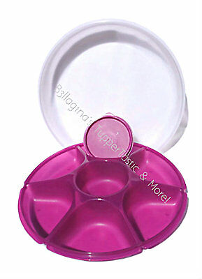 Tupperware NEW Large Serving Centre Dip Bowl Party Multi Server Rhubarb Purple
