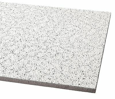 "Armstrong Acoustical Ceiling Tile, 24"" Width, 48"" Length, 5/8"" Thickness,"