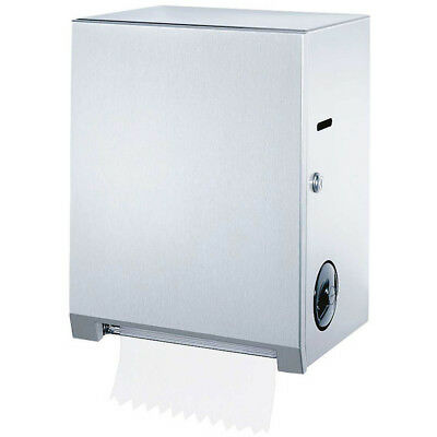 Bobrick B-2860 Stainless Steel Surface-Mounted Roll Towel Dispenser