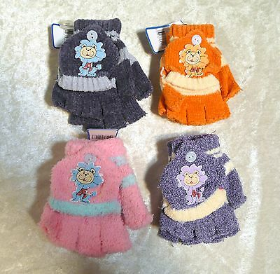 Cute Childrens Toddlers LION Mittens Gloves Baby Fall Winter Warm Boy/Girls Hot!
