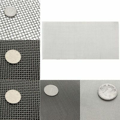 5/8/20/30/40 Mesh Stainless Steel Woven Filteration Wire Filter Sheet 15x30cm
