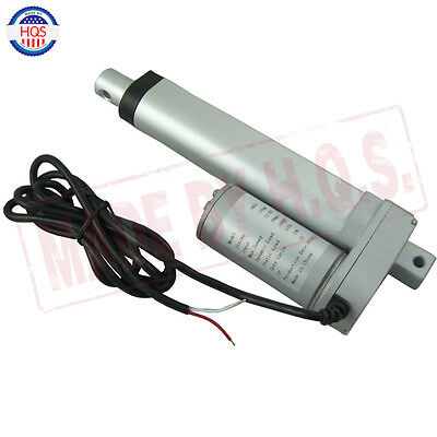 "Heavy Duty Linear Actuator 4"" inch Stroke 225 LB Pound Max Lift DC 12V/24V NEW"