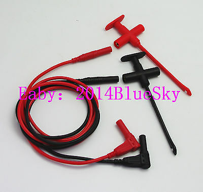 Rating: CATIII 1000V,Max 2A. Material:shell ma +1m/3ft/39 4mm Test Lead Silicone