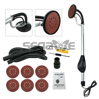 Drywall Sander 750 Watts Commercial Electric Variable Speed 6 Round Sanding Pads