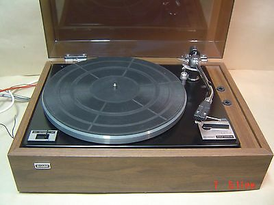 Sharp RP 4520A Turntable with Shure M75-65 Cartridge NEW Needle Fitted.