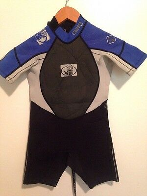 Body Glove Kids Size 4 Spring Wetsuit Shorty Boys Childs C4  Toddler