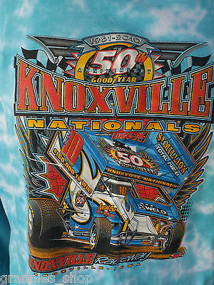 Sprintcar Speedway T-Shirt  50th Knoxville Nationals 2010  Size M (maybe S ?)