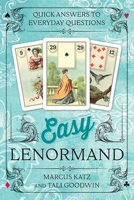 Easy Lenormand: Quick Answers to Everyday Questions (Cards), Katz, Marcus, Good.