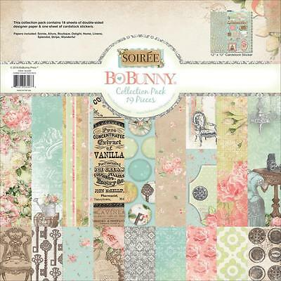"""Bo Bunny Soiree 12""""x12"""" Collection Pack 19616407"""