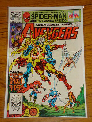 Avengers #214 Vol1 Marvel Comics Ghost Rider Apps December 1981