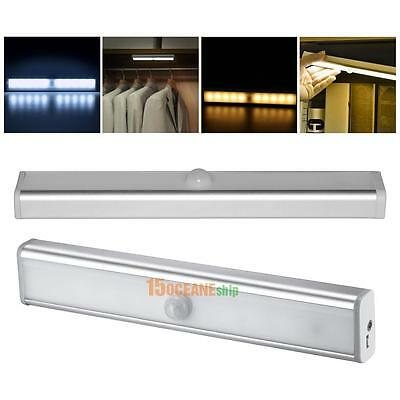 USB Rechargeable LED Night Light with PIR Motion Sensor for Closet Cabinet Room
