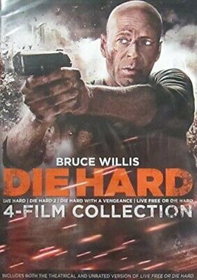 Die Hard 4-Film Collection (2014, REGION 1 DVD New)