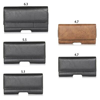 Waist Bag Men Belt Fanny Pack Leather Purse Pouch Phone Pocket Sleeve Card Pack